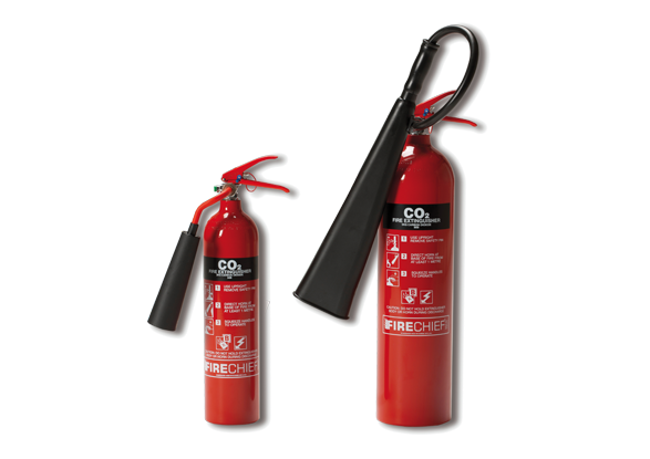 CO2 Fire Extinguishers (Fire Class B)