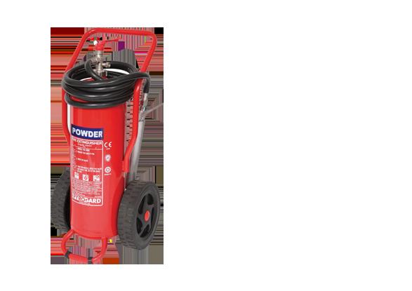 Dry-Powder-Trolley-Units