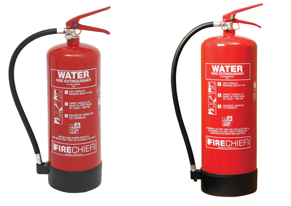 Water Fire Extinguishers (Fire Class A)