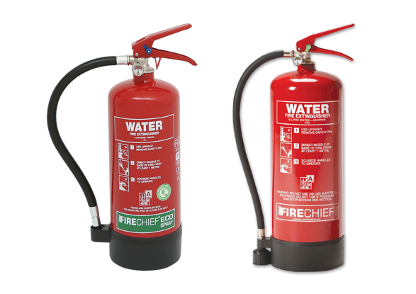 Water fire extinguishers with Additive (Fire Class A)